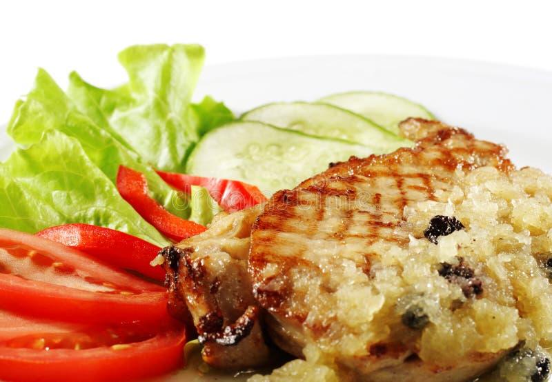 stek wieprzowina obraz royalty free
