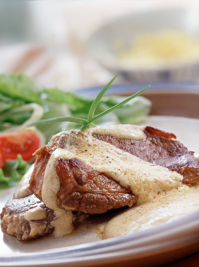 stek wołowiny fotografia stock