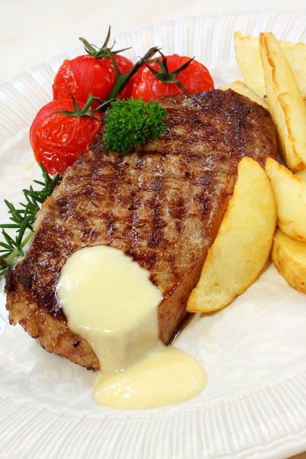 stek wołowiny obraz royalty free