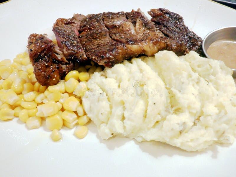 Stek z żebra zdjęcie royalty free