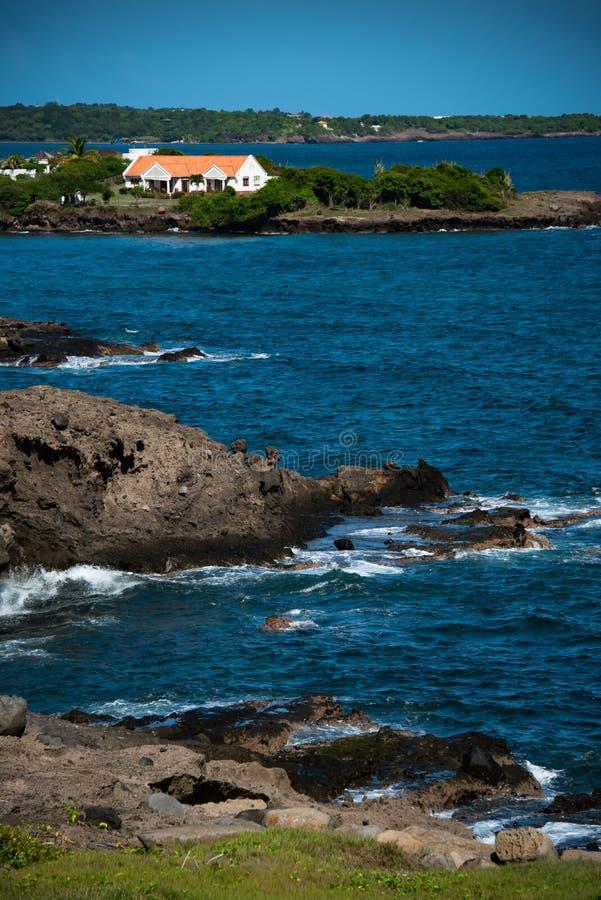 Stekelig het Punthuis van Grenada royalty-vrije stock foto's