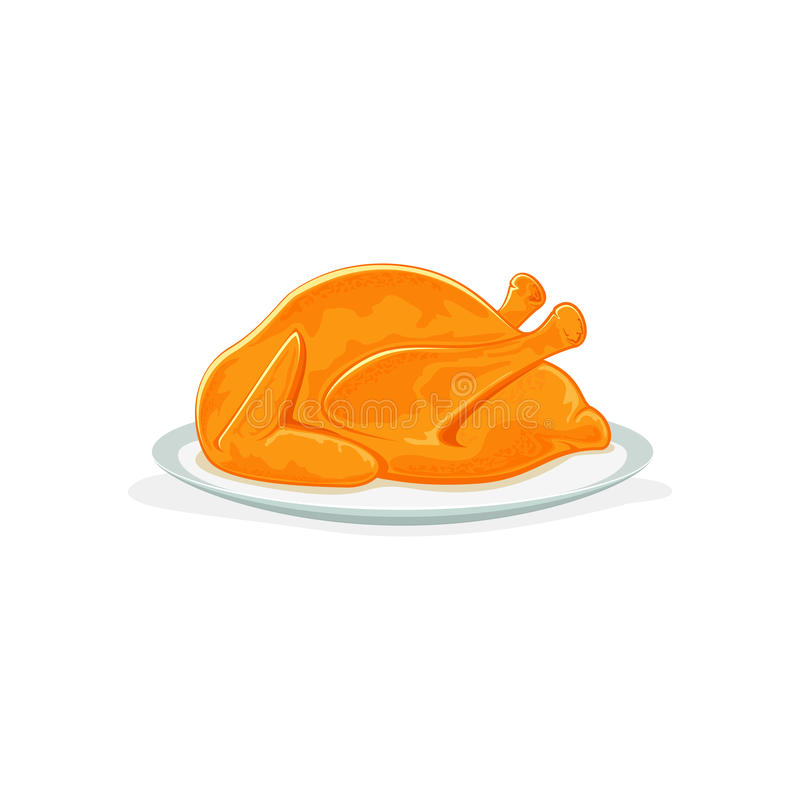 Stekkalkon för tacksägelse stock illustrationer