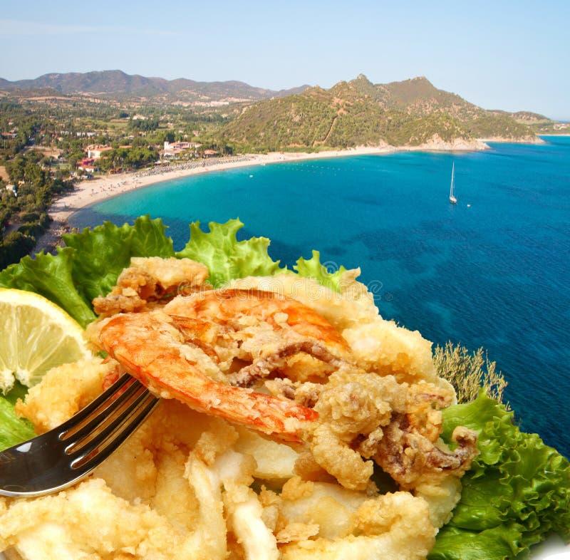 Download Stekt fisk arkivfoto. Bild av äta, lunch, maträtt, läckert - 27276002