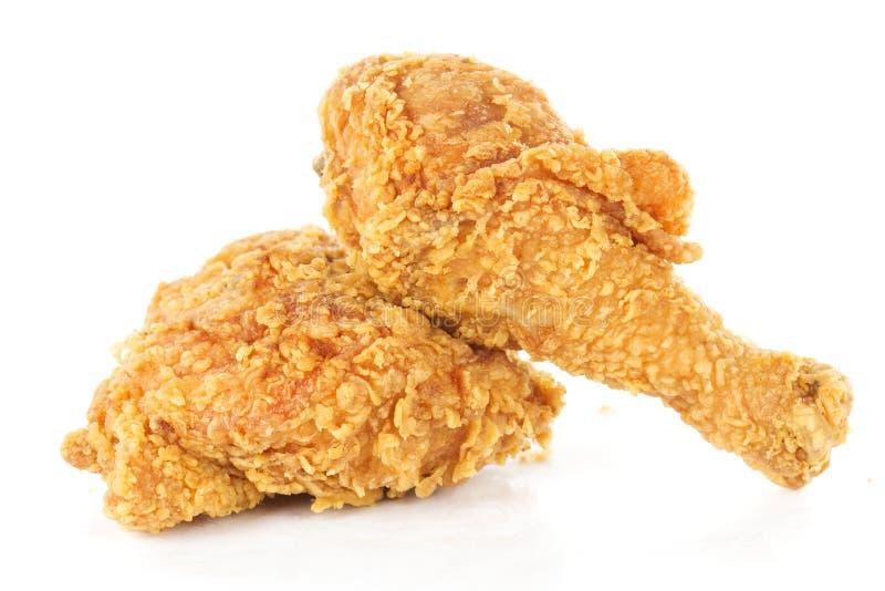 Stekt kycklingtrumpinnar och höft royaltyfri bild