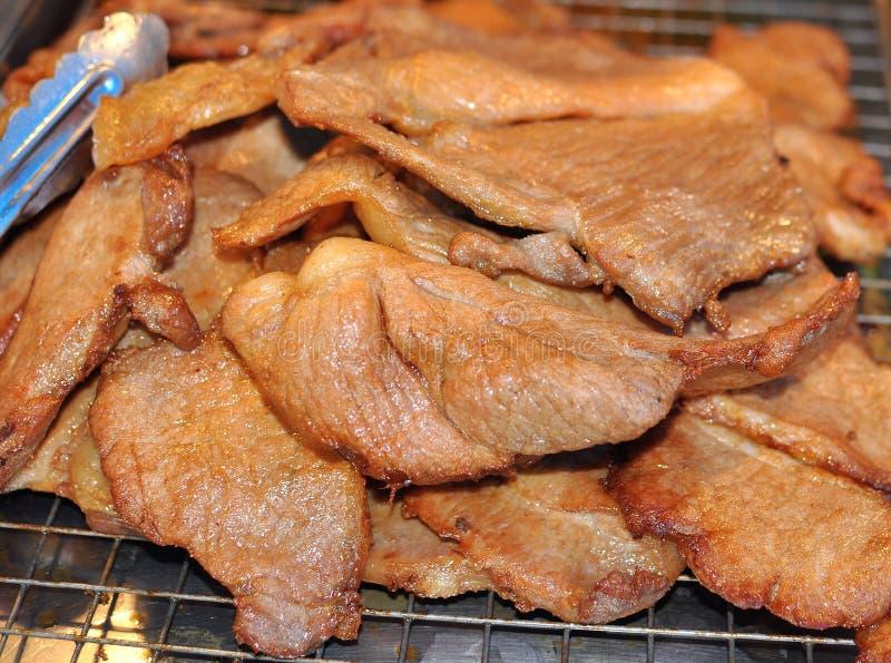 Stekt pork royaltyfri foto