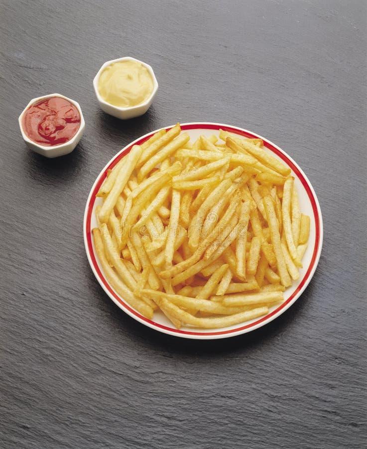 stekt potatis fotografering för bildbyråer
