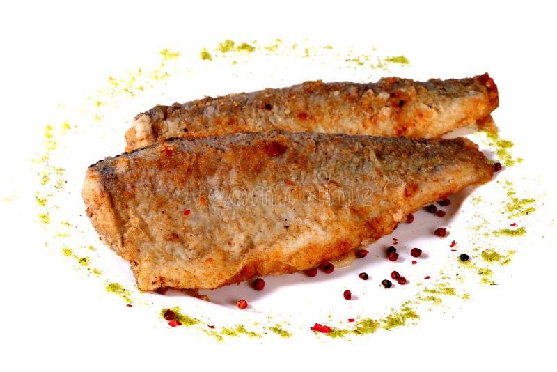Download Stekte fiskar fotografering för bildbyråer. Bild av headless - 106837399