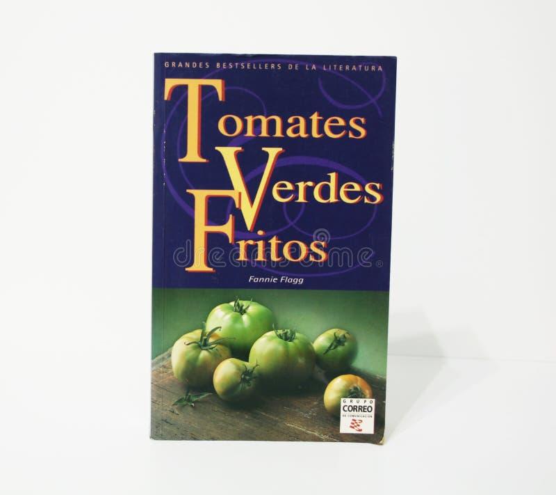 stekte gröna tomater royaltyfri bild