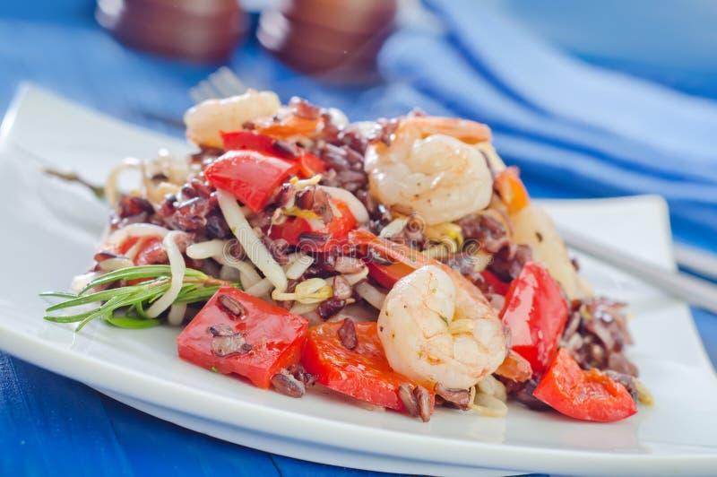 Download Stekte ris arkivfoto. Bild av mål, special, gourmet, småfisk - 37346116