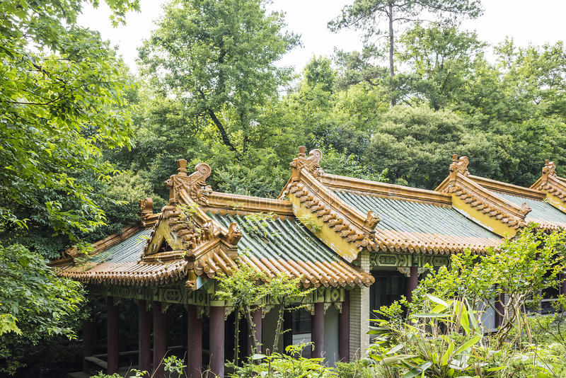 The Stele Passageway roof royalty free stock photos