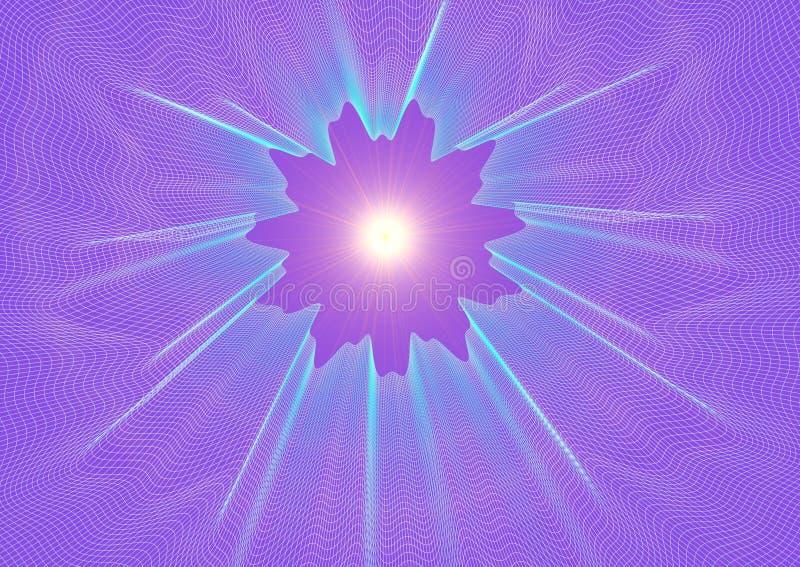stella 3D-Shining illustrazione vettoriale