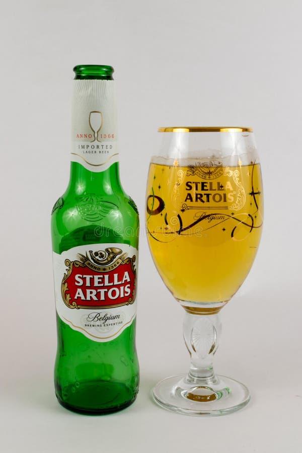 Stella Artois fotos de archivo libres de regalías