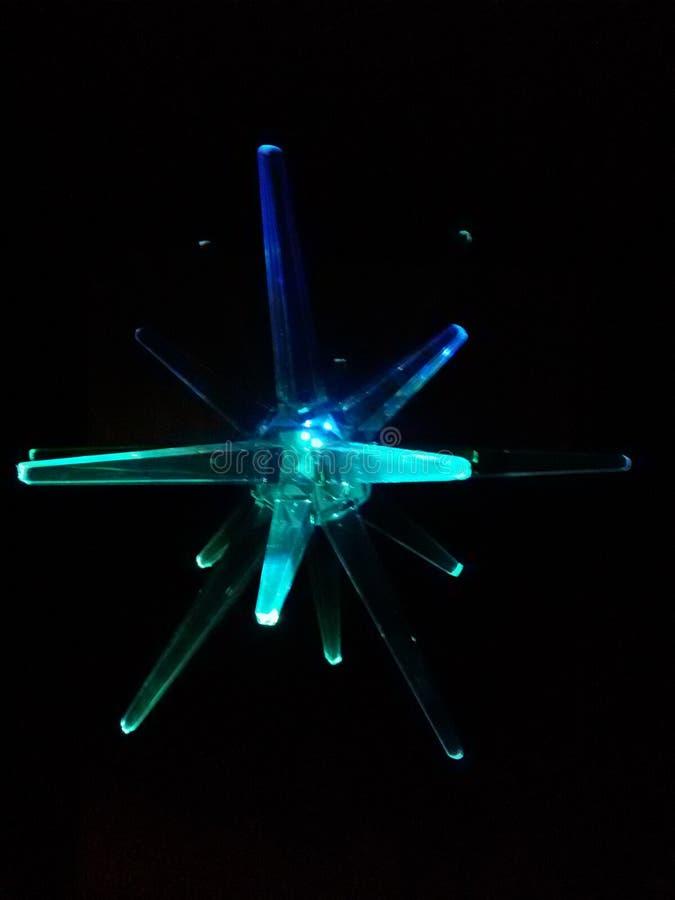 Stella blu fotografie stock libere da diritti