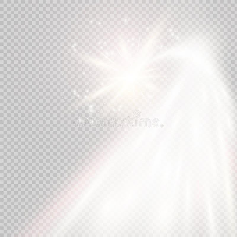 Stella cadente scintillare di vettore Illustrazione di vettore royalty illustrazione gratis