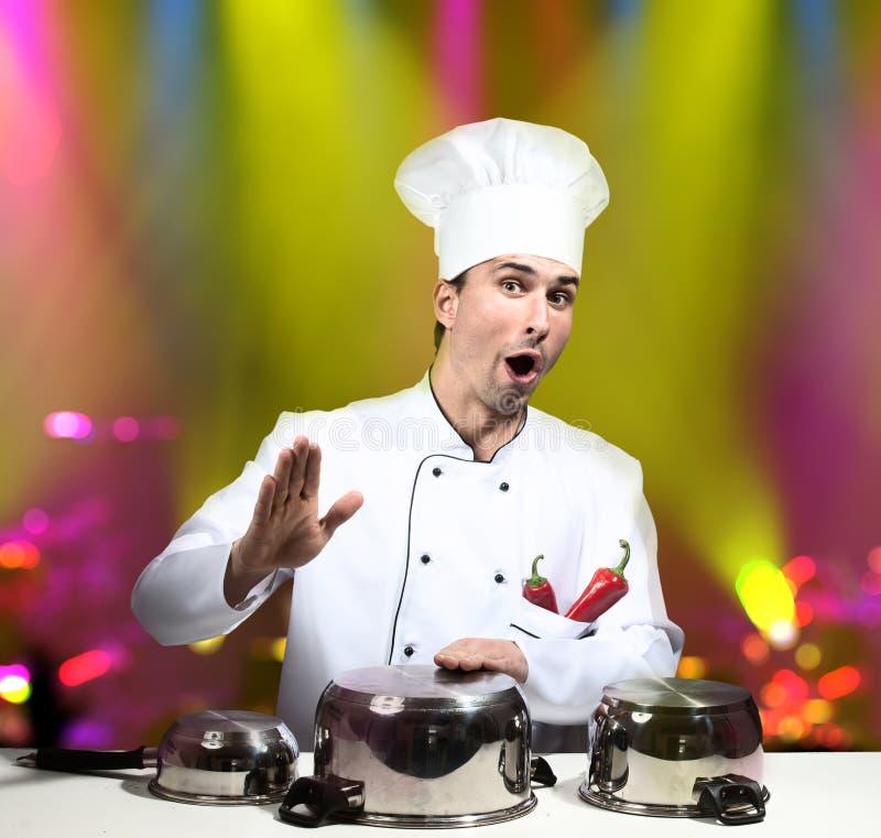 Stella del cuoco unico immagini stock libere da diritti