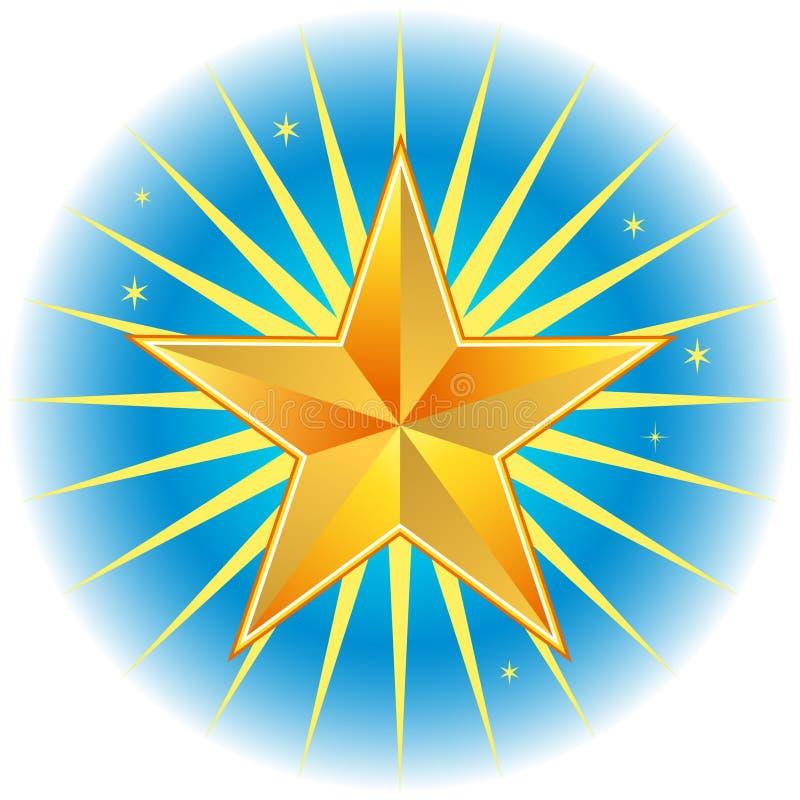 Stella del nord: Indicatore luminoso di guida royalty illustrazione gratis