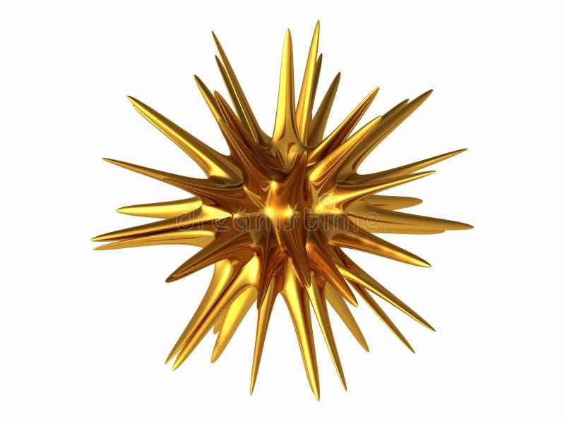 Stella dell'oro illustrazione di stock