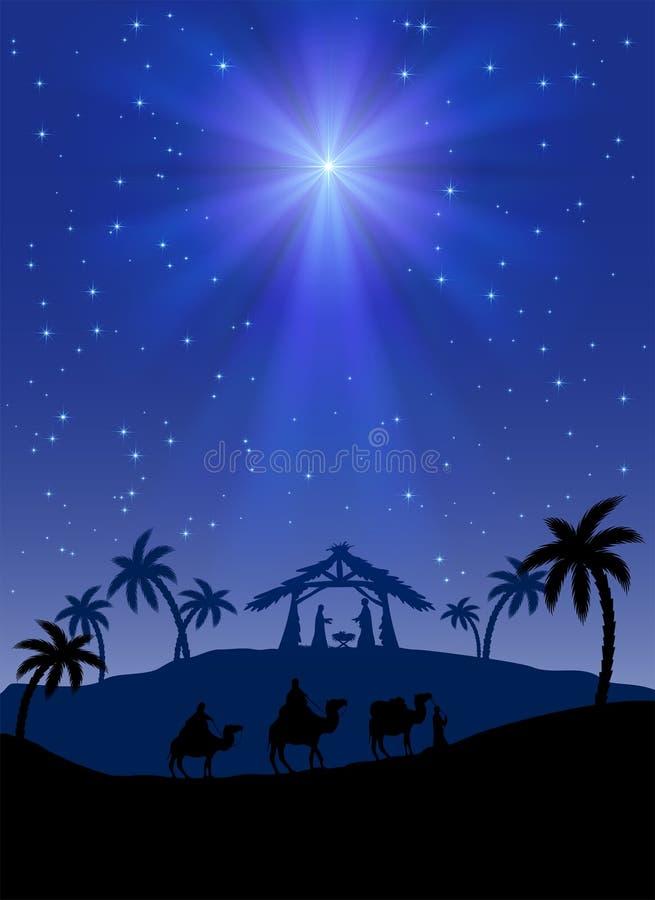 Stella di Natale royalty illustrazione gratis