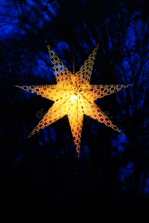 Stella di Natale fotografie stock