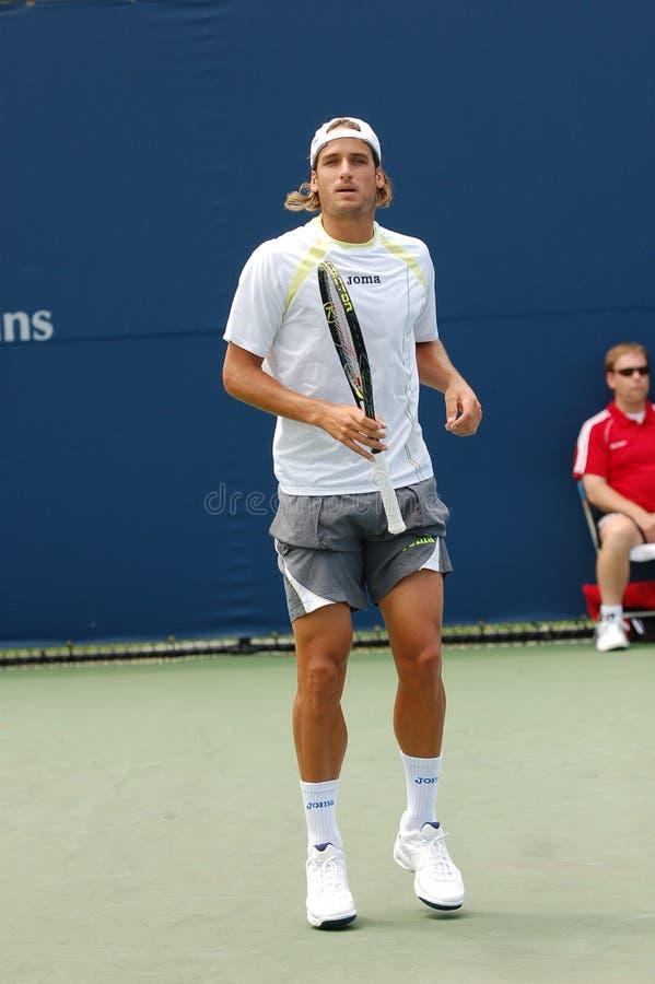Stella di tennis spagnola di Lopez Feliciano (13) fotografia stock libera da diritti