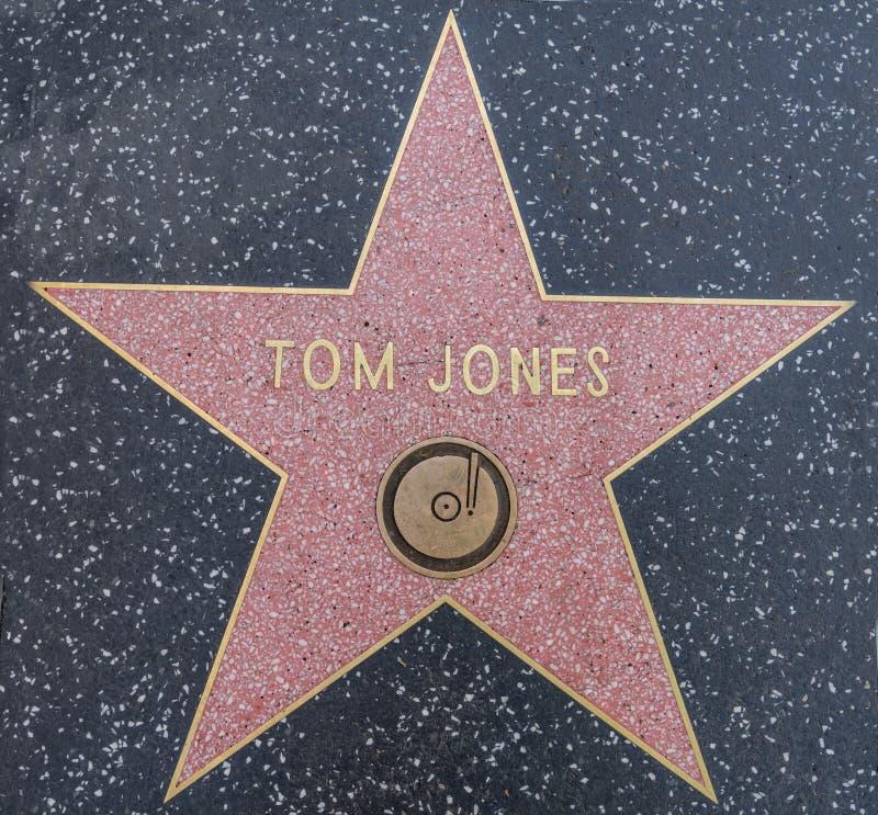 Stella di Tom Jones immagini stock