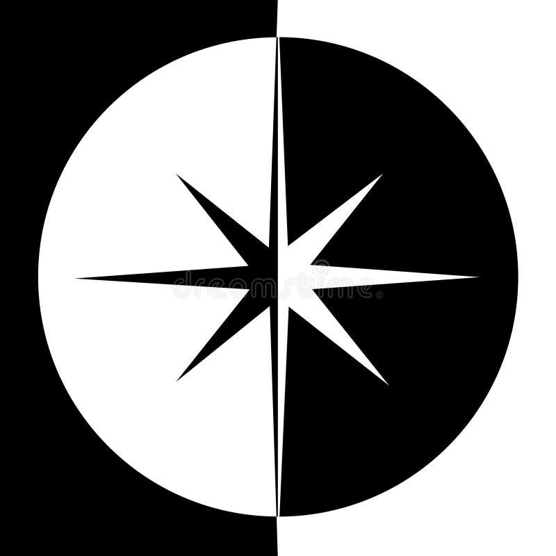 Stella di vettore Retro stella Priorità bassa della stella Stella nera Segno della stella Simbolo della stella Logo della stella  illustrazione vettoriale