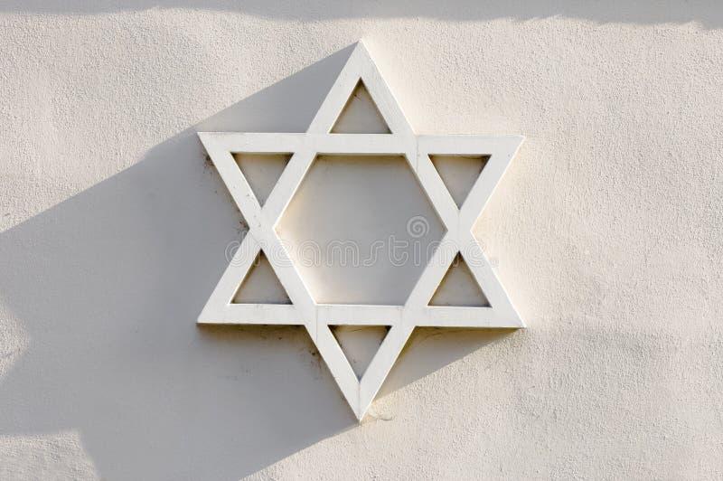 Stella ebrea immagine stock libera da diritti