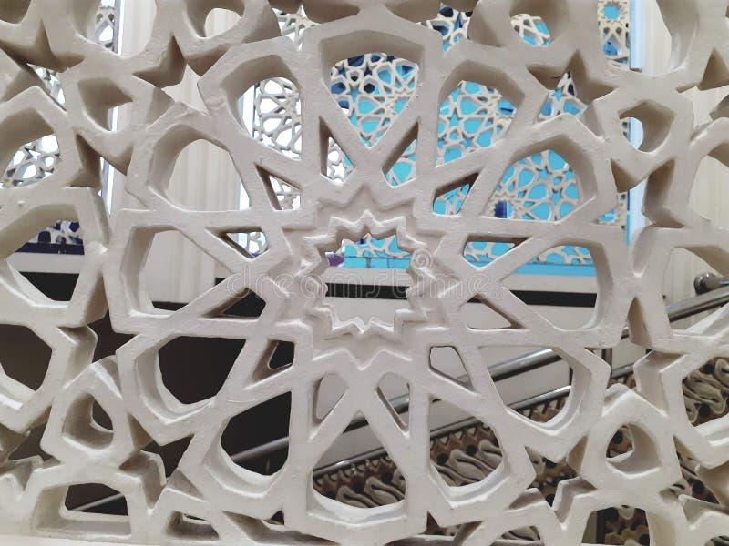 Stella islamica moderna del fondo di struttura della carta da parati immagini stock libere da diritti