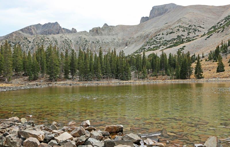 Stella Lake in Great Basin NP stock image