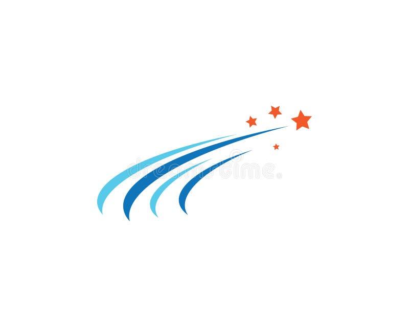 Stella Logo Template royalty illustrazione gratis