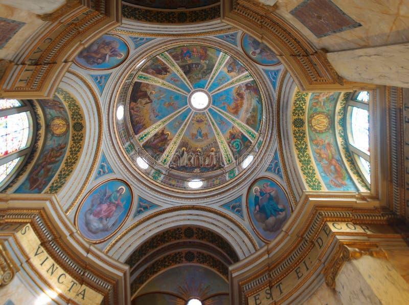 Stella Maris Carmelite Monastery royaltyfria bilder