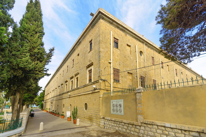 Stella Maris Carmelite Monastery royaltyfri fotografi