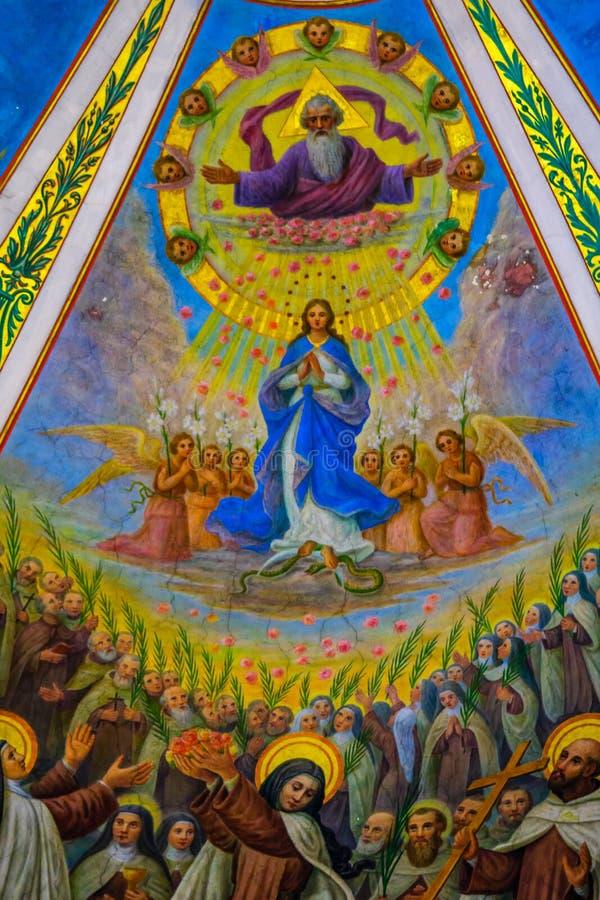 Stella Maris Carmelite Monastery stock foto's