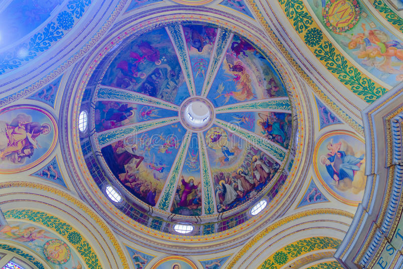 Stella Maris Carmelite Monastery royaltyfria foton