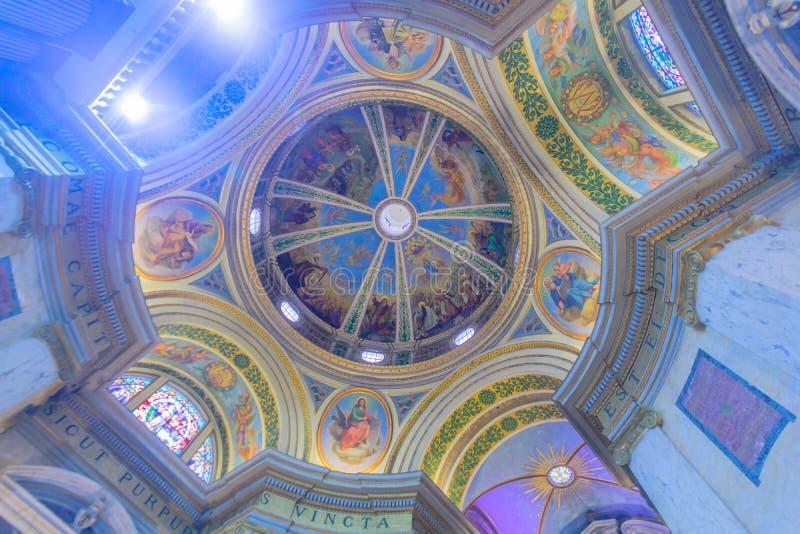 Stella Maris Carmelite Monastery fotografia stock libera da diritti