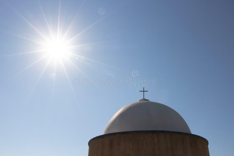 The Stella Maris Monastery located on the slopes of Mount Carmel in Haifa, Israel stock photo