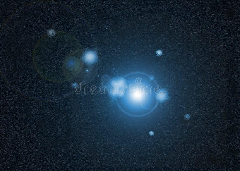 Stella nell'universo immagine stock libera da diritti