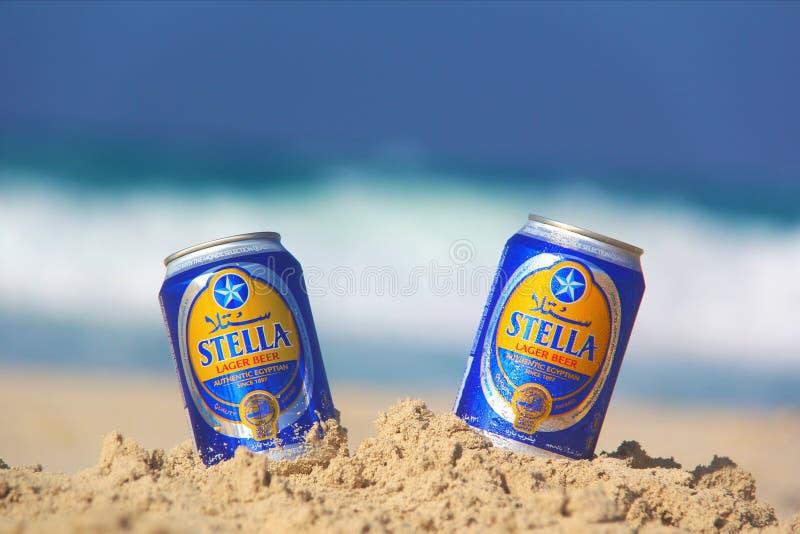 Stella plaża zdjęcia royalty free
