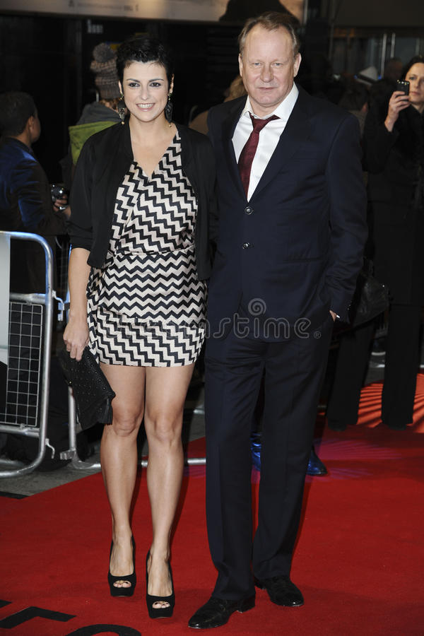 Stellan Skarsgard. Arriving for the premiere of The Girl with The Dragon Tattoo at the Odeon Leicester Square, London. 13/12/2011. Picture by: Steve Vas / stock images