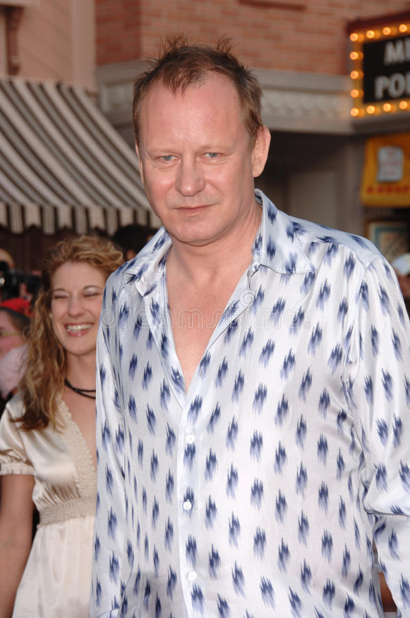 Stellan Skarsgard. Actor STELLAN SKARSGARD at the world premiere of his new movie Pirates of the Caribbean: Dead Man's Chest at Disneyland, CA. June 24, 2006 stock photography