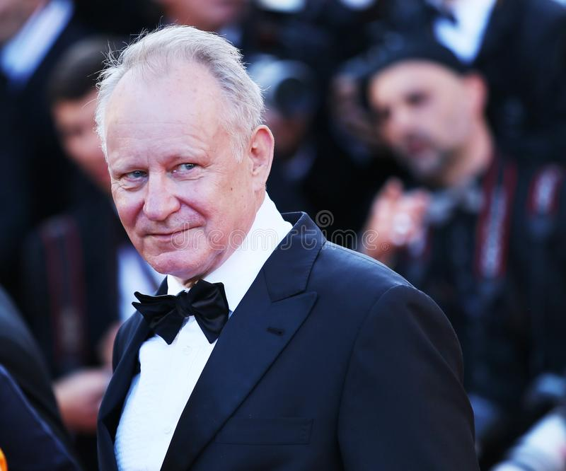 Stellan Skarsgard attends Closing Ceremony. During the 71st Cannes Film Festival at Palais des Festivals on May 19, 2018 in Cannes, France stock photos