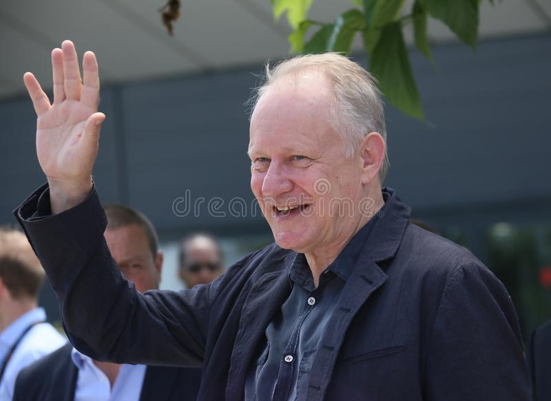 Stellan Skarsgard attends `The Man Who Killed Don Quixote`. Photocall during the 71st Cannes Festival at Palais on May 19, 2018 in Cannes, France stock photos