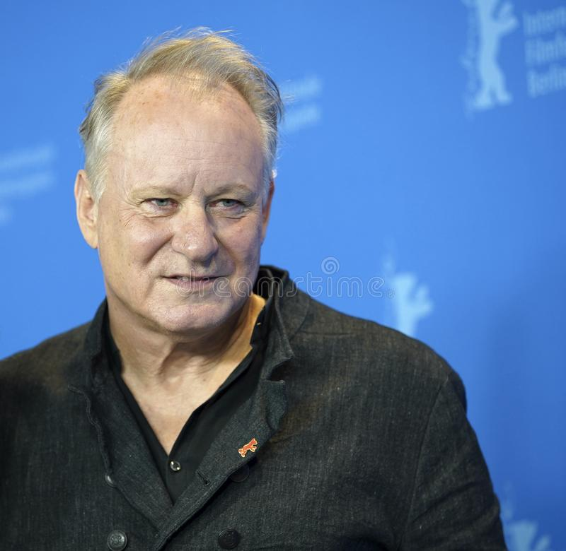 Stellan Skarsgard attends the `Out Stealing Horses. ` Photocall at the 69th Berlinale International Film Festival Berlin on February 9, 2019, in Berlin, Germany royalty free stock photos