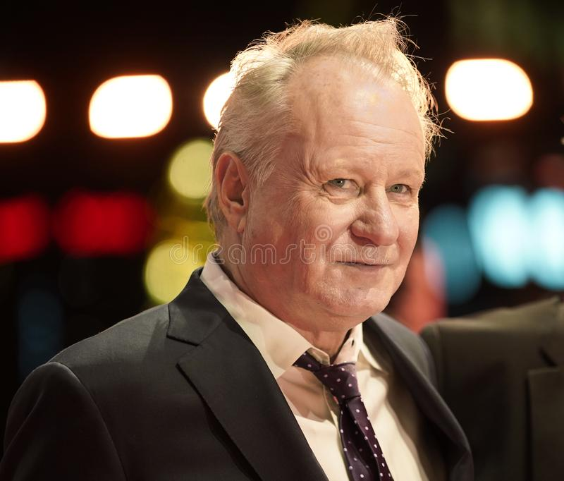Stellan Skarsgard attends the `Out Stealing Horses. ` Premiere at the 69th Berlinale International Film Festival Berlin on February 9, 2019, in Berlin, Germany royalty free stock photo
