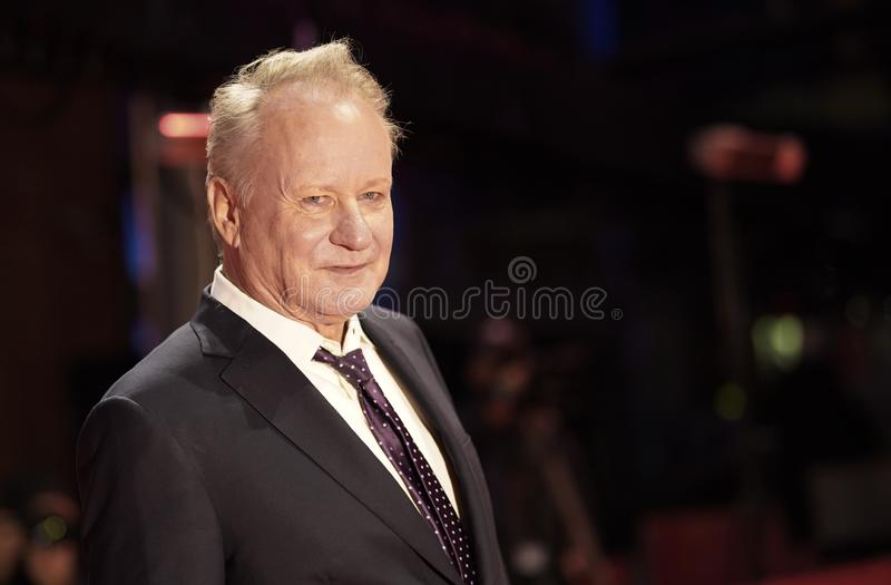 Stellan Skarsgard attends the `Out Stealing Horses. ` Premiere at the 69th Berlinale International Film Festival Berlin on February 9, 2019, in Berlin, Germany stock photos