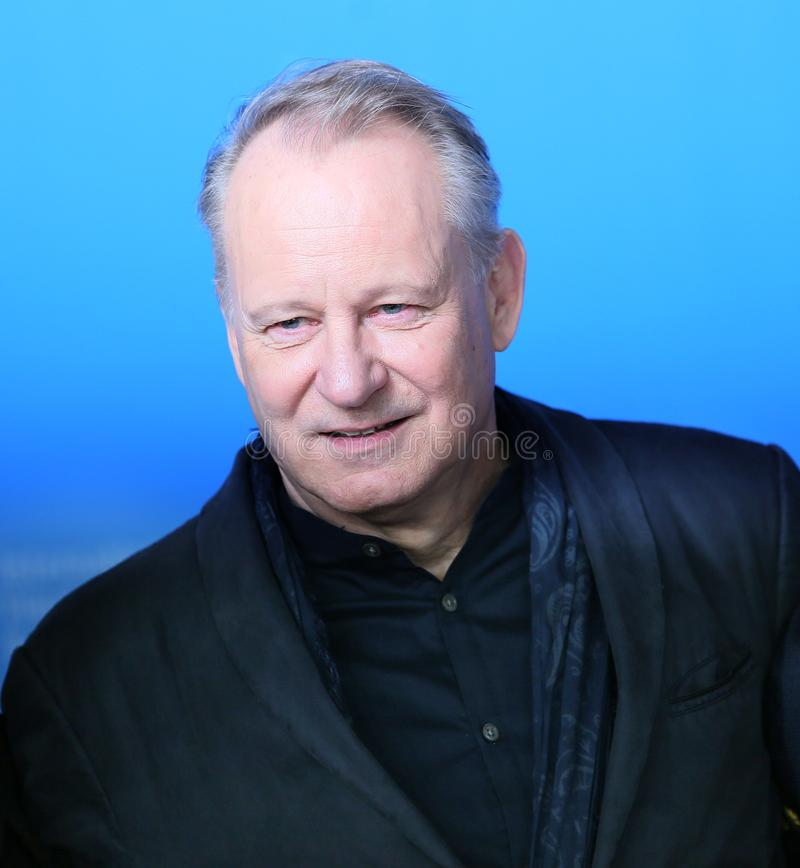 Stellan Skarsgard attends the `Return to Montauk`. Photo call during the 67th Berlinale Film Festival Berlin at Grand Hyatt Hotel on February 15, 2017 in Berlin stock images