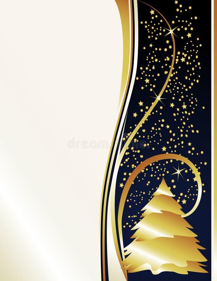 Stelle & albero dell'oro della perla illustrazione vettoriale