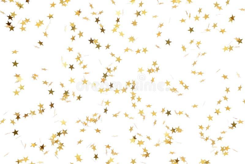 Stelle dell'oro immagini stock libere da diritti