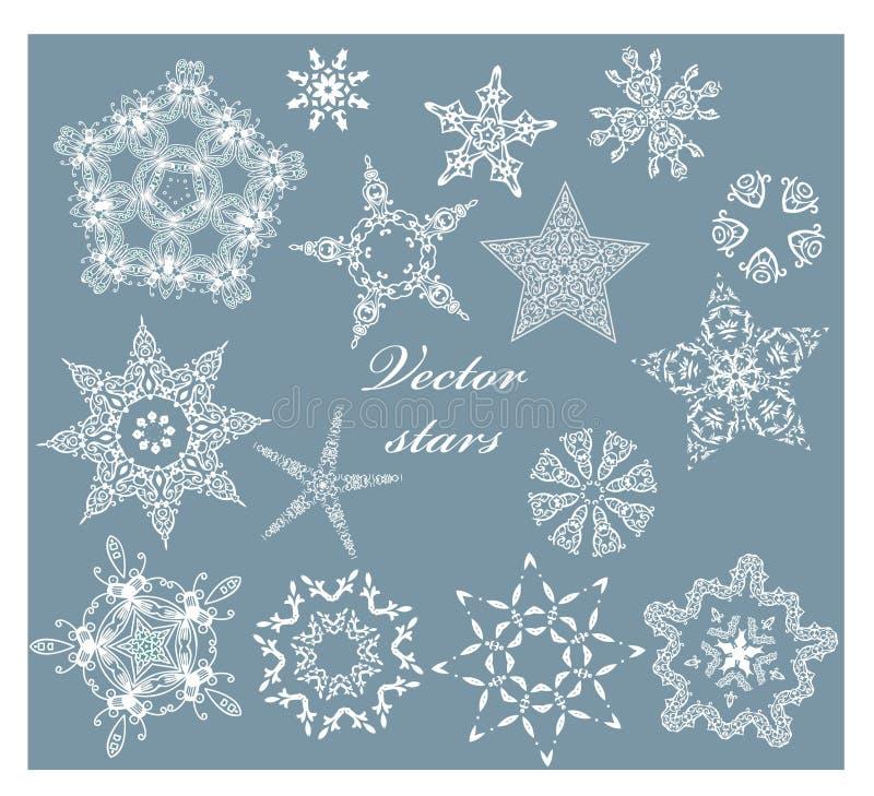 Stelle di Natale royalty illustrazione gratis