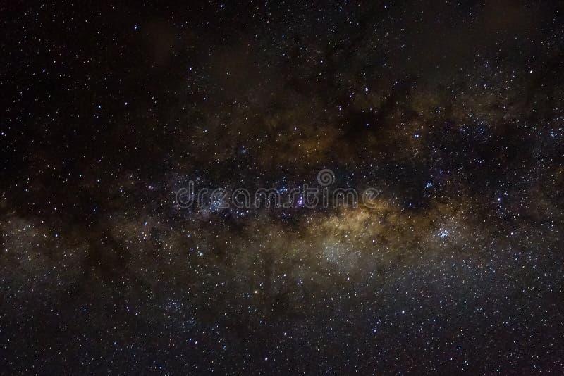 Stelle e fondo stellato del nero dell'universo di notte del cielo dello spazio cosmico della galassia di starfield brillante fotografia stock